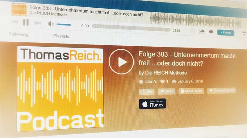 Unternehmer Coach Mallorca - Poadcast Interview Partner Thomas Reich